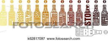 Beer Color Chart Clip Art K62817097 Fotosearch