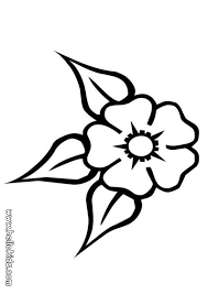 Small Picture Three leaf flower coloring pages Hellokidscom