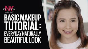 maybelline video basic makeup tutorial everyday naturally beautiful look