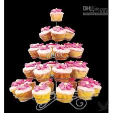 How To Display Cupcakes Without A Stand Inspiration Large Wire Cupcake Stand Display Cupcakesat The Perfect Angle Loja