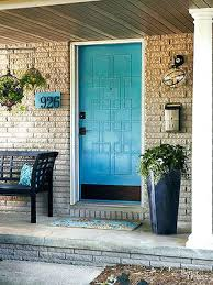 Turquoise front door Remodel Turquoise Front Door With Red Brick Ideas Blue Doors Reallifewithceliacdisease Turquoise Front Door With Red Brick Ideas Blue Doors Welcomentsaorg