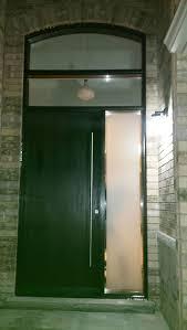 exterior fiberglass doors. fiberglass door-modern exterior rustic front door with arched transom and stainless steel doors w