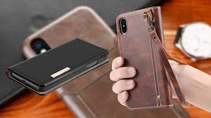 best iphone xs max leather cases in 2019 pro looking design with rich leather texture