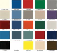 Buy Republic Color Chart At Centar Industries