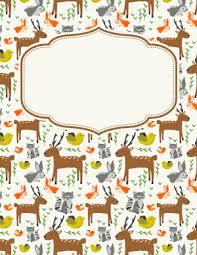 Free Animal Binder Covers