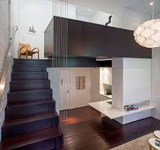 Tiny Micro Loft Apartment In Manhattan IDesignArch Interior - Decorating loft apartments
