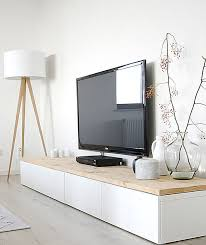 white media console furniture. view in gallery white media console with a wooden top furniture e