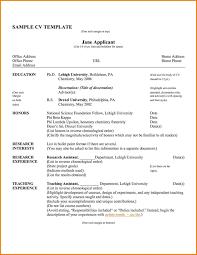 Pdf Resume Resume Template Word English Fresh Pdf Curriculum Vitae