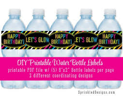 Printable Vending Machine Drink Labels New Water Bottle Labels Diy New Printable Water Bottle Labels Drink