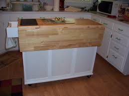 Small Kitchen Extensions Picture Of Wooden Movable Kitchen Island With Folding Extension