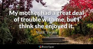 Famous Quotes About Family Adorable Trouble Quotes BrainyQuote