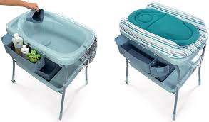 baby bath and change table combo primo spa baby bathtub
