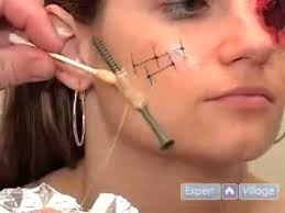 makeup tips diy fake wounds special effects how to use gel makeup for