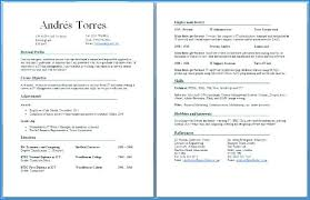 Two Page Resume Impressive Two Page Resume Examples P Superb How To Format A Two Page Resume