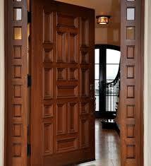 Simple Teak Wood Single Main Door Designs For Indian Homes Of Single