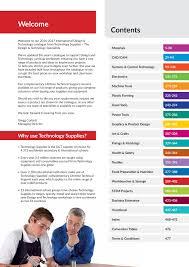 Design And Technology Supplies Technology Supplies Ltd International Catalogue