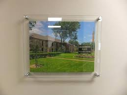 photo frames custom wall mount acrylic sandwich plexiglass poster diy moun acrylic floating picture frames