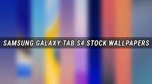 samsung galaxy tab s4 stock