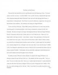 The Hero In John Proctor Essay