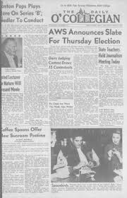Daily O'Collegian, 1955-02-26 - The Daily O'Collegian 1940 - Digital  Collections - Oklahoma State University