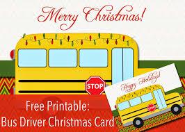 My Fashionable Designs Free Printable Bus Driver Christmas Or