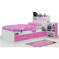 kids single bed with storage. Interesting With Kids Single Bed W Storage Headboard U0026 Drawers Pink To With R
