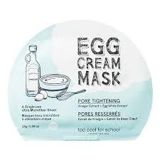 Очищение TOO COOL FOR SCHOOL <b>Яичная маска</b> для лица ...