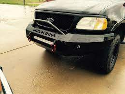 Iron Cross Automotive 22 415 97 Push Bar Front Bumper Ford F 150 97 03 Ford F150 Ford Trucks Bumpers