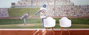 Baseball Murals & Baseball Scene Wallpaper