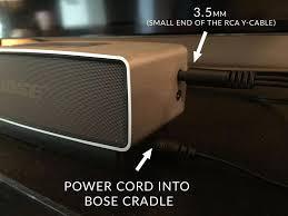 bose mini soundlink 3. soundlink mini. rca_y_cable_to_bose_speaker bose mini soundlink 3 s