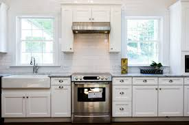 Carrera Countertops white kitchen decoration using white subway tile kitchen 1662 by guidejewelry.us