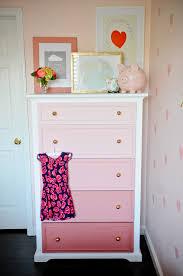 painted dresser ideasDIY Ombre Dresser Tutorial  Project Nursery