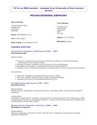 Resume Examples Sales Marketing Best Free Outside Template 791