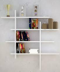 Wall Bookshelves Modern Contemporary Wall Mounted Bookshelves Ideas Bookshelf