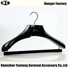 suit hanger luxury black wooden for brand stand dubai