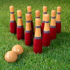 lawn bowling game skittle ball indoor and outdoor fun for toddlers rh com