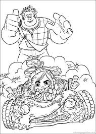 This film full of winks and references is primarily dedicated to children of course, but also their parents, who have most of the time held a. Vanellope Von Schweetz Coloring Pages