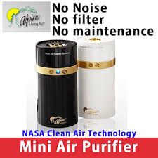 air purifier no filter. Modren Purifier ALPINE NASA Clean Air Technology  Permanent Mini Air Purifier Throughout Purifier No Filter