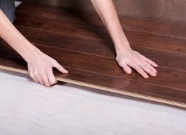 laminate floors float on top of underlayment