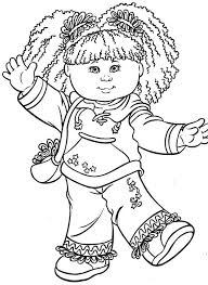 Small Picture 26 best colouring sheets images on Pinterest Cabbage patch kids