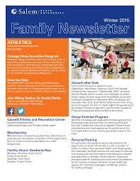Newletter Formats Parent Family Newsletter Templates At Allbusinesstemplates