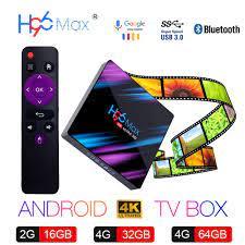 Quad Core H96 MAX Plus 4K WiFi 4GB/64GB Bluetooth 4.0 Android 8.1 Smart TV  Box TV, Video & Home Audio universitasfundacion Consumer Electronics
