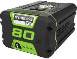 <b>Литий</b>-<b>ионная аккумуляторная батарея Greenworks</b> 80 V Digi-Pro ...