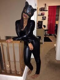 jumpsuit leather pants leather leggings leather jacket black jumpsuit black high heels masks ski mask crop tops style fashion cat ears cats