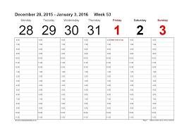Calendar Spreadsheet Template Free Weekly Calendar Template Excel