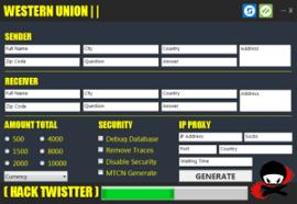 Free - Western Transfer Number Hack Union Money Mtcn