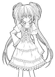 Hotaru Fashion Shugo Chara Coloring Pages