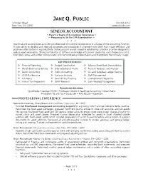 Example Of Accountant Resumes Accountant Resume Cover Letter Wikirian Com