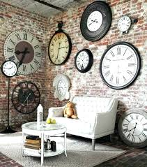 extra large contemporary wall clocks large retro wall clock extra large wall clocks contemporary vintage clock