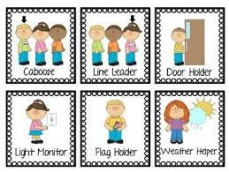 Classroom Job Chart Printable Free Job Pocket Labels Preschool Job Chart Preschool Jobs